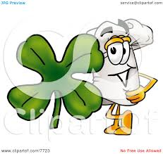 clipart picture of a chefs hat mascot cartoon character with a