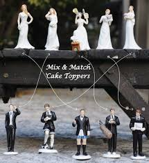 wedding toppers and groom potato groom wedding topper mix and match