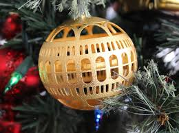 gold plated christmas ornaments library of congress christmas ornament j7ww472yr by tgaw