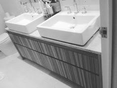 Bathroom Vanities Made In America by Maple Wood Vanity With A Patterned Door Style Is Finished In