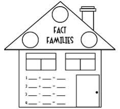 fact family clipart collection
