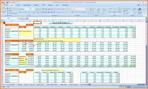 Financial Planning Worksheet 7 Business Plan Spreadsheet Template Excel Excel Spreadsheets Group