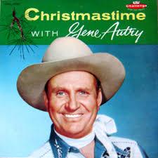 gene autry christmastime with gene autry vinyl lp album at