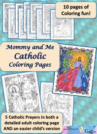 mommy and me catholic coloring pages drawn2bcreative
