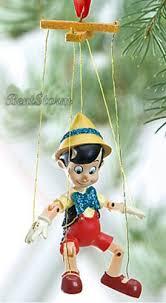 2011 disney store pinocchio marionette ornament puppet