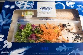 cuisine am ag en u the best airplane food from 10 alliance flights win free tickets