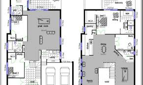 Construction Floor Plans 24 Photos And Inspiration 2 Storey House Floor Plans Building