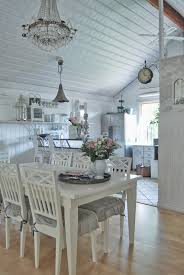 Blue Shabby Chic Kitchen by