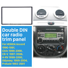 seicaneuniversal 178 100mm double din cover kit for honda fit jazz
