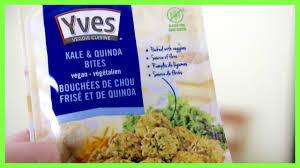 cuisine quinoa vegan taste test yves kale and quinoa bites