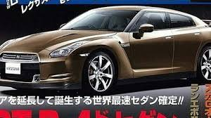 nissan sedan 2008 nissan developing new suv u0026 sedan based on gt r platform