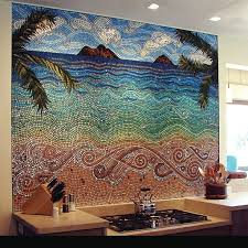 kitchen backsplash mosaic 18 gleaming mosaic kitchen backsplash designs