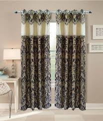 Snapdeal Home Decor Homefab India Brown Embroidery Polyester Sdl893373784 Door Curtain