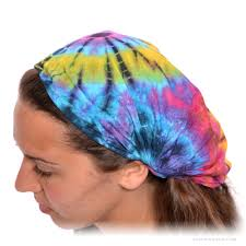 tie dye headbands expandable tie dye headband on sale for 9 99 at the hippie shop