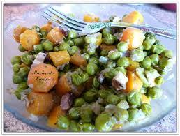 cuisiner les petits pois petits pois carottes aux lardons fumés miechambo cuisine