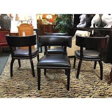 set of four ralph lauren clivedon dining chairs for sale at 1stdibs