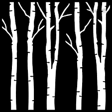 download your free birch tree stencil here save time and start