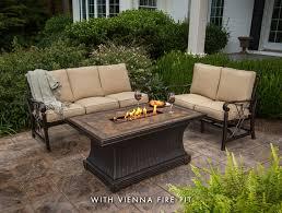 Agio Firepit Agio Seville Outdoor Sofa Set Patio Furniture Seating