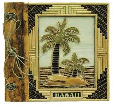 hawaii photo album hawaii photo album bamboo with 2 palms 9 x 11 home