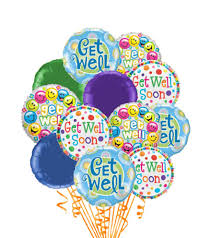 get well soon balloons same day delivery 12 get well balloons get well best sellers