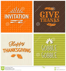 thanksgiving cards collection royalty free stock images image
