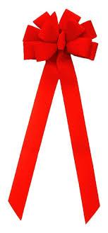 wide ribbon jumbo velvet weatherproof 10 loop 100 ribbon 4 width 15