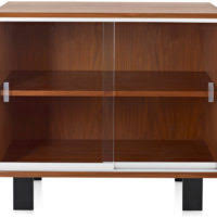 Small Media Cabinet Furniture Furniture Black Wooden Mid Century Media Console With Glass Dooor