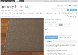 Pottery Barn Trellis Rug by Pottery Barn Rug Pad Roselawnlutheran