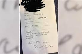 ihop black friday watch waitress gets rude note instead of a tip at ihop upi com