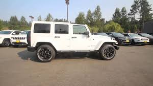 jeep rubicon white 2017 2017 jeep wrangler unlimited smoky mountain 4x4 bright white