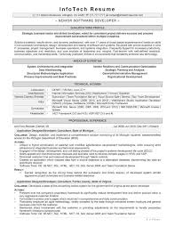 resume for software developer database software engineer resume principal software engineer