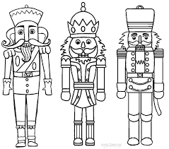printable nutcracker coloring pages kids cool2bkids fairy