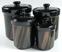 kitchen canister sets australia black canisters canister sets black 4 canister set box