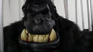 gorilla halloween mask 60239 killa gorilla big mouth mask youtube