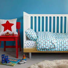 Cot Bed Duvet Cover Boys Boats Toddler Cot Bed Duvet Set By Lulu And Nat