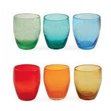 set bicchieri villa d este home cala moresca set 6 bicchieri multicolore andystore
