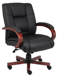 boss caressoftplus mid back executive chair