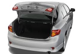 toyota corolla trunk dimensions 2010 toyota corolla reviews and rating motor trend