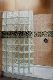 glass door in bathroom best 25 glass block shower ideas on pinterest bathroom shower