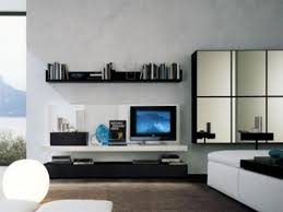 living simple wall units ideas for modern room single dark