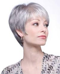 short hairstyles for seniors with grey hair 2018 latest short haircuts for grey hair