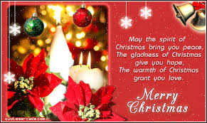 wishing readers friends blog family merry