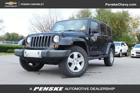 2010 used jeep wrangler 2010 used jeep wrangler unlimited 4wd 4dr at penske