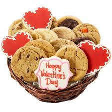 cookie baskets s day heart cookie basket aa gifts baskets