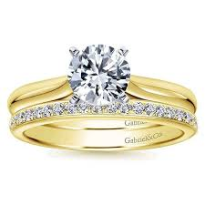 engagement rings solitaire images Classic yellow gold solitaire engagement ring gabriel co jpg