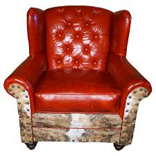 Red Leather Chair Chair Furniture Red Leather Chairs At Home Goodstorered Chair And