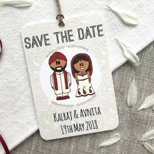 Save The Date Indian Save The Date Magnet By The Abstract Bee