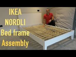 ikea nordli bed frame assembly