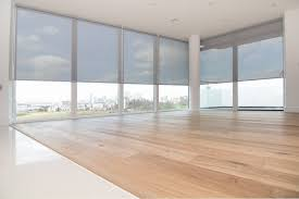 sunscreen roller blinds for floor to ceiling windows in new
