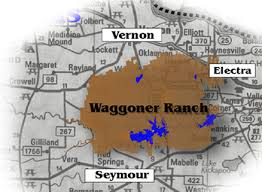 wt waggoner ranch map w t waggoner ranch near vernon contains approximately